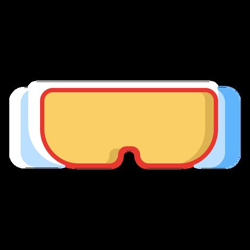 Ícone de óculos de esqui Transparent PNG