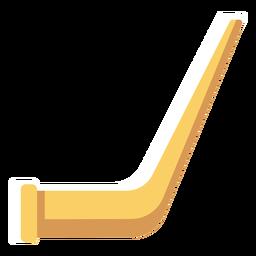 Icono de alphorn suizo