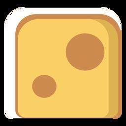 Icono de queso suizo