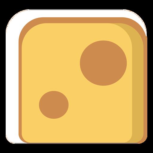 Icono de queso suizo Transparent PNG