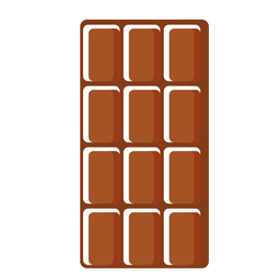 Swiss chocolate icon