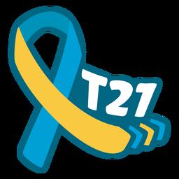 Fita de suporte para síndrome de Down T21