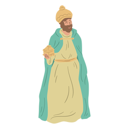 Wise man nativity character