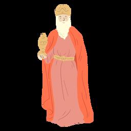Personaje de natividad de sabios