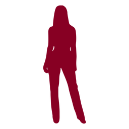 Woman posing silhouette people silhouettes