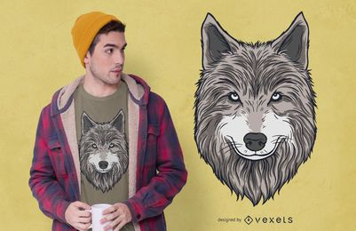 Wolfskopf T-Shirt Design