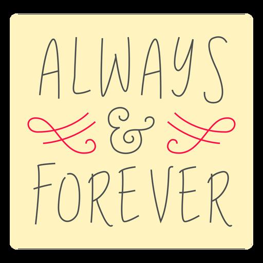 Emblema de sempre e para sempre