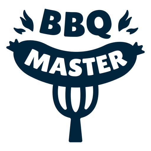 Bbq master badge Transparent PNG