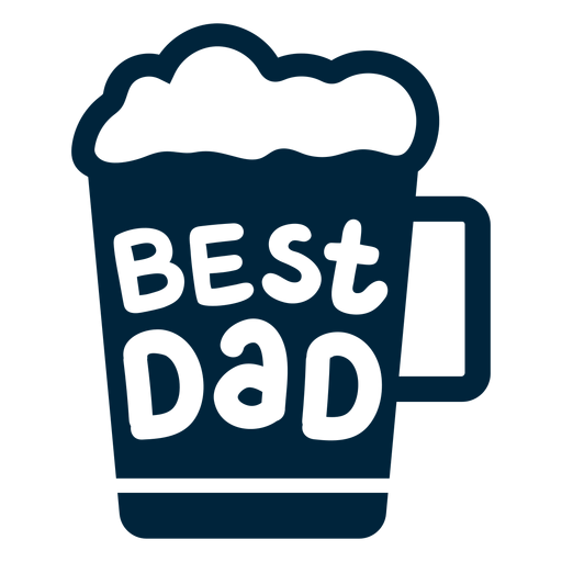 Best dad badge fathers day