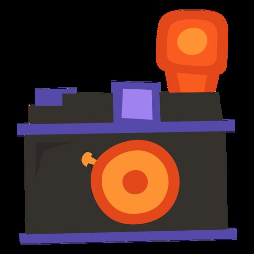 Camera flash flat