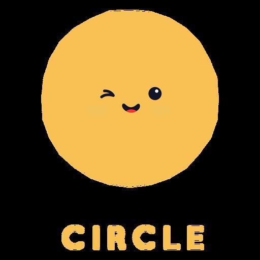 Forma de círculo fofa