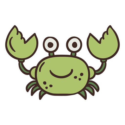 Cute crab animal