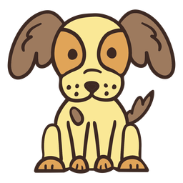 Animal cachorro fofo