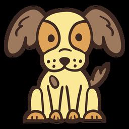Lindo perro animal