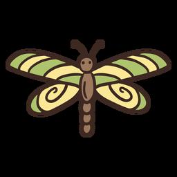 Inseto de mosca dragão bonito