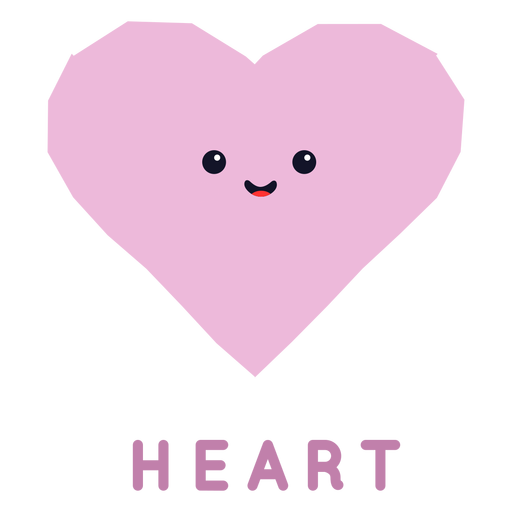 Cute heart shape