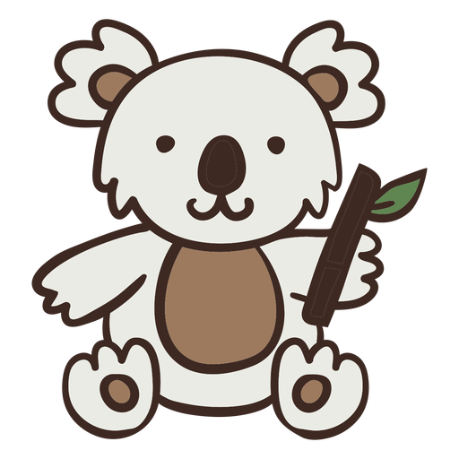Lindo animal koala Transparent PNG