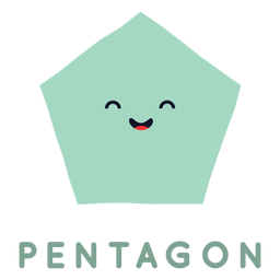 Cute pentagon shape