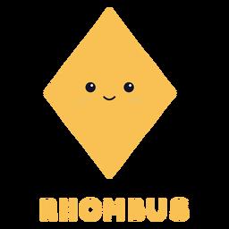 Cute rhombus shape