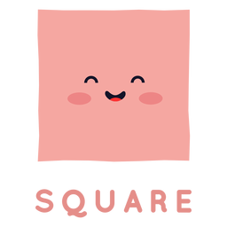 Cute square shape