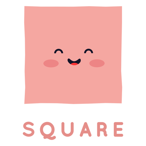 Cute square shape