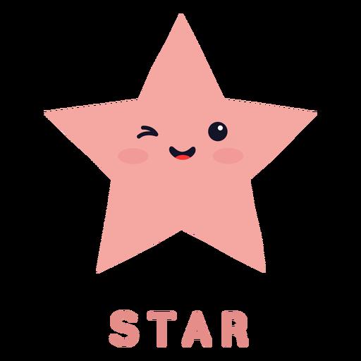 Cute star shape