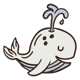 Lindo animal ballena