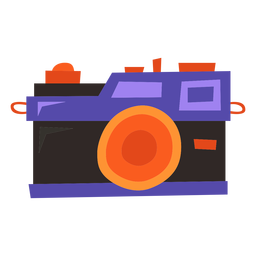 Câmera digital plana
