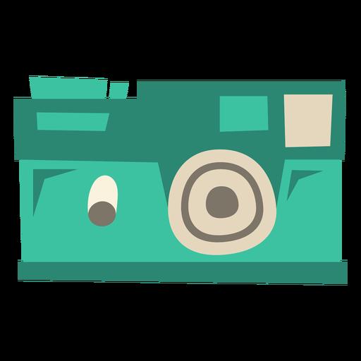 Cámara digital moderna plana Transparent PNG