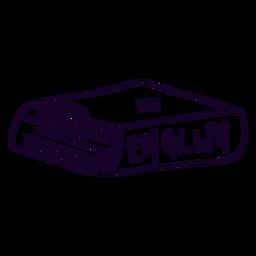 English book doodle