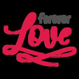 Letras de amor para siempre