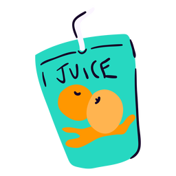 Fruit juice flat