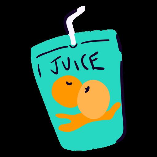 Fruit juice flat