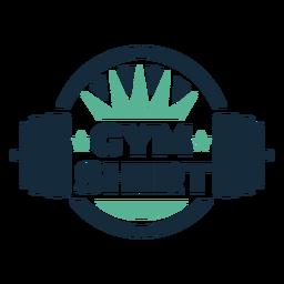 Gym shirt badge