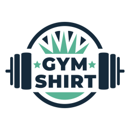Insignia de camiseta de gimnasio