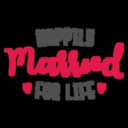 Feliz casamento para o resto da vida letras