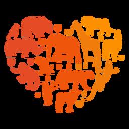 Corazón de animales