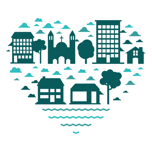 Heart of buildings