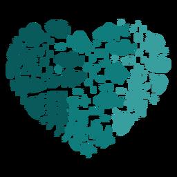 Coração de peixe