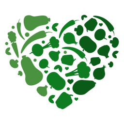 Coração de legumes