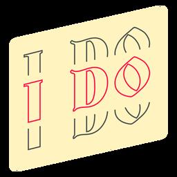 I do badge