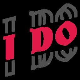 I do lettering