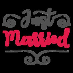 Letras recém casadas