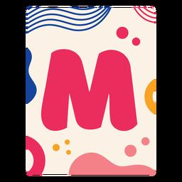 Carta m flashcard