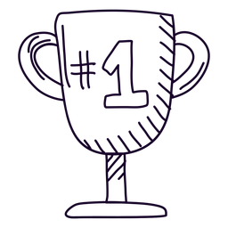 Doodle de trofeo número 1