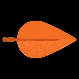 Red leaf flat