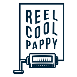 Carrete cool pappy badge