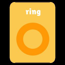 Tarjeta de forma de anillo