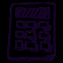Calculadora escolar calculadora doodle