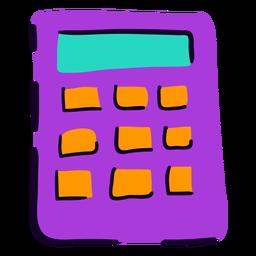 Calculadora escolar plana